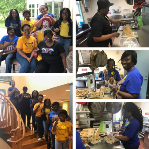 Alpha Nu Sigma Makes Desserts for The Ronald  McDonald House in Wilmington, DE